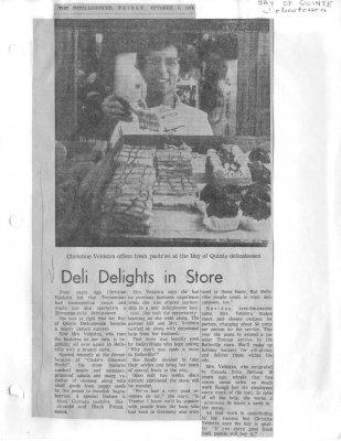 Deli delights in store: Bay of Quinte Delicatessen
