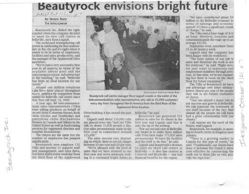 Beautyrock envisions bright future
