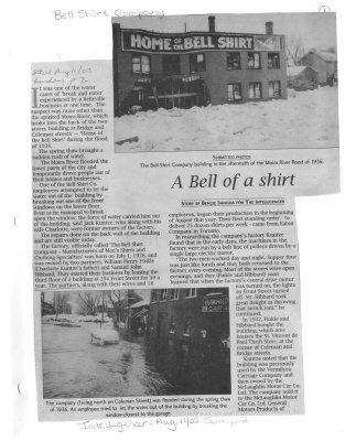 A Bell of a shirt: Bell Shirts
