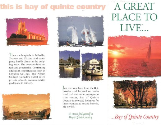 Bay of Quinte Flier 2001