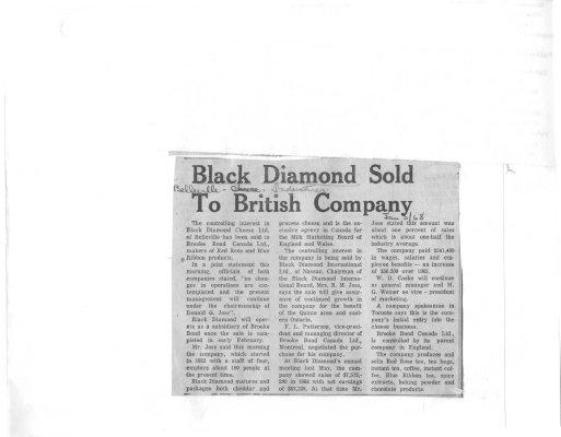 Black Diamond sold to British Company