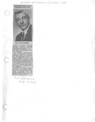 Canadian Channing Corporation Ltd.: E.J. (Al) Hardy