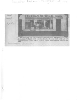 Remember When: Canadian National Telegraph Office