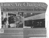 Times Are Changing... In Beautiful Downtown Belleville : Changing Times Bookstore