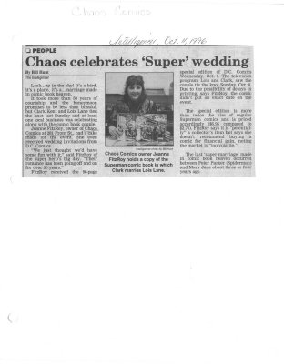 Chaos celebrates 'Super' wedding : Chaos Comics