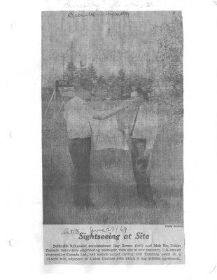 Sightseeing at Site : Chromalloy Canada Ltd