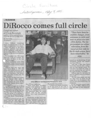 DiRocco comes full circle : Circle Furniture