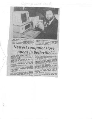 Newest computer store opens in Belleville : Computerland