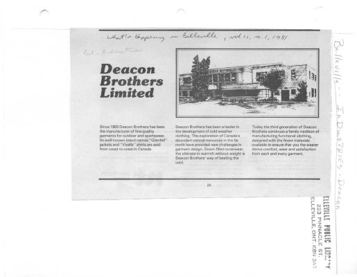 Deacon Brothers Limited