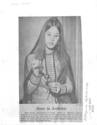 Boon to Arthritic: Deloro Stellite