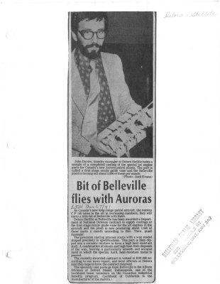 Bit of Belleville flies with Auroras: Deloro Stellite