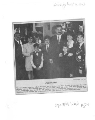 Family affair: Dennys Restaurant