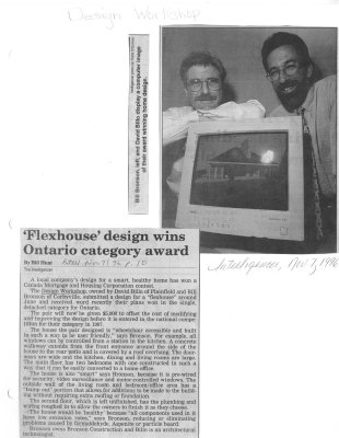 Flexhouse design wins Ontario category award: Design Workshop