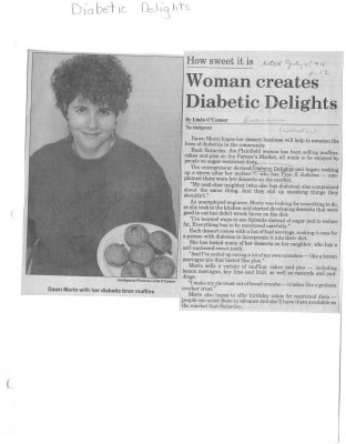 Woman creates Diabetic Delights