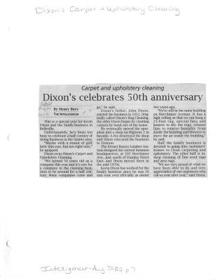 Dixons celebrates 50th anniversary