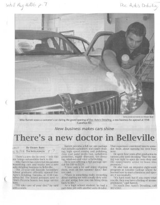 There's a new doctor in Belleville: Doc Autos Detailing