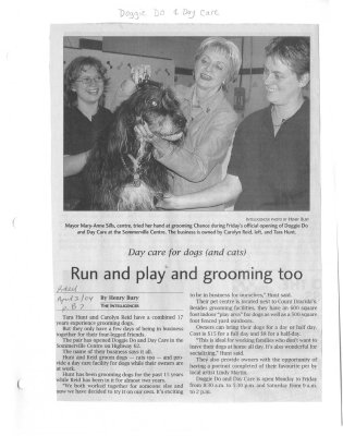 Run and play and grooming too: Doggie Do and Day Care