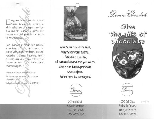 Give the gift of chocolate: Donini Chocolate