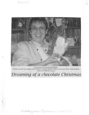 Dreaming of a chocolate Christmas: Donini Chocolate