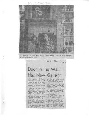 Door in the Wall has New Gallery