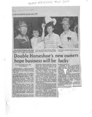 Double Horseshoe's New owners hope business will be lucky