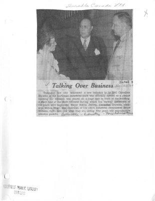 Talking Over Business: Durabla Canada Ltd