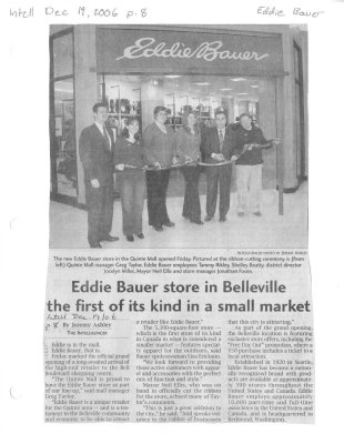 Eddie Bauer store in Belleville the first of its kind in a small market