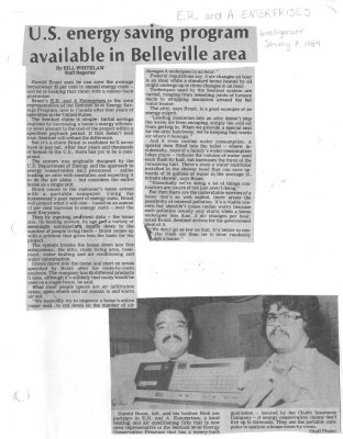 U.S. energy saving program available in Belleville area