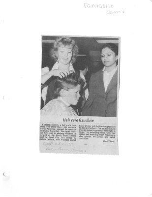 Hair care franchise: Fantastic Sams