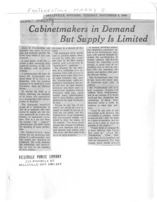 Cabinetmakers in Demand But Supply is Limited