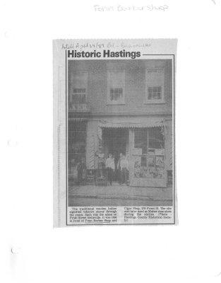 Historic Hasting: Fenn Barbershop