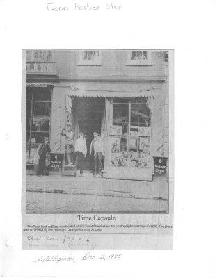 Time Capsule: Fenn Barber Shop