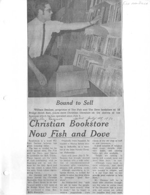 Christian Bookstore Now Fish and Dove