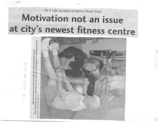 Motivation not an issue at city's newest fitness centre:Fit 4 Life