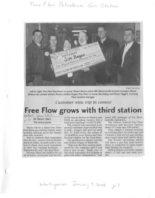 Free Flow grows with third station : Free Flow petroleum