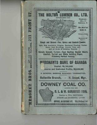 Vernon's Belleville City Directory 1913