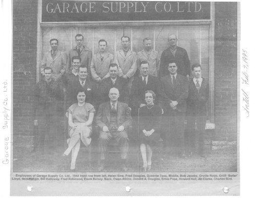 Remember When: Garage Supply Co. Ltd.