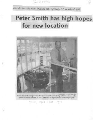 Peter Smith Has High Hopes For New Location