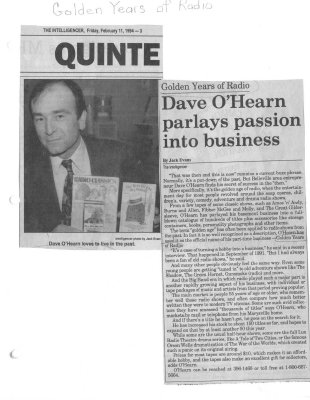 Dave O'Hearn Parlays Passion Into Business