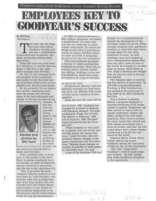 Employees Key to Goodyear's Success
