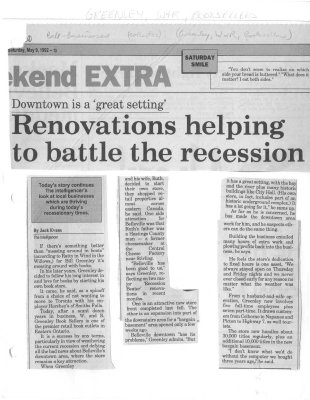 Renovations Helping to Battle the Recession