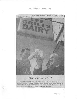 Grills Merges Dairy