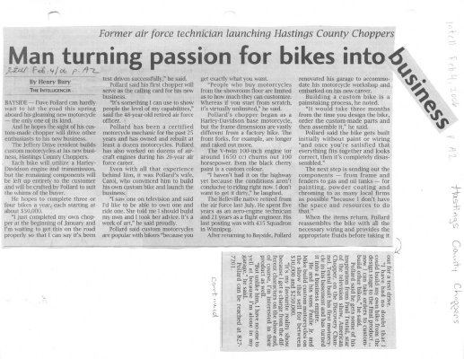 Man turning passion for bikes into business