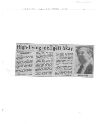 High Flying idea gets okay