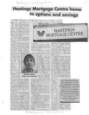 Hastings Mortgage Centre home to options and savings