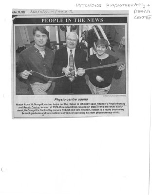 Physio Centre opens