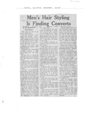 Men's Hair Styling is finding Converts