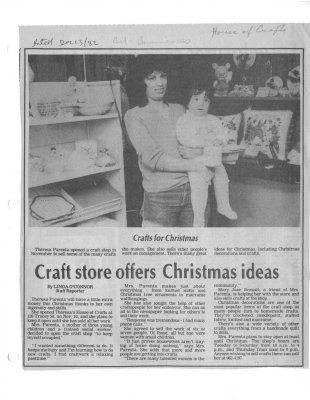 Craft store offers Christmas ideas