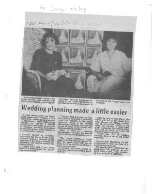 Wedding planning made a little easier