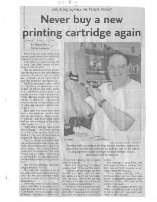 Never buy a new printing cartridge again